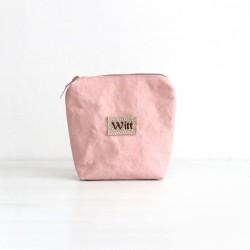 Różowa kosmetyczka Lana