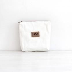 Biała kosmetyczka Lana