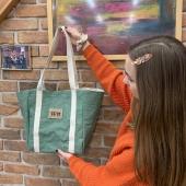 Jedna z moich ulubionych toreb na codzień, shopper w kolorze zielonym 💚  link do torby- https://sklep.witt.com.pl/shopper/96-zielony-shopper.html 🌷