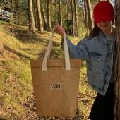 Brązowa torba sprawdziła się super na naszym ostatnim wyjeździe 🌞 zresztą jej kolor idealnie dopasował się do otaczającej nas natury 🌾🧘🏼♀️  Jak Wam się podoba?  Link do torby- https://sklep.witt.com.pl/worki/47-brazowy-worek.html 🦋